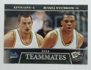 2008 08 Press Pass UCLA Teammates Kevin Love Russell Westbrook #56, Bruins