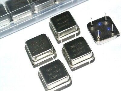 QTY=5 PCS 16.000MHz IQXO-22C IQD CLOCK OSCILLATORS 16MHz 16.0MHz