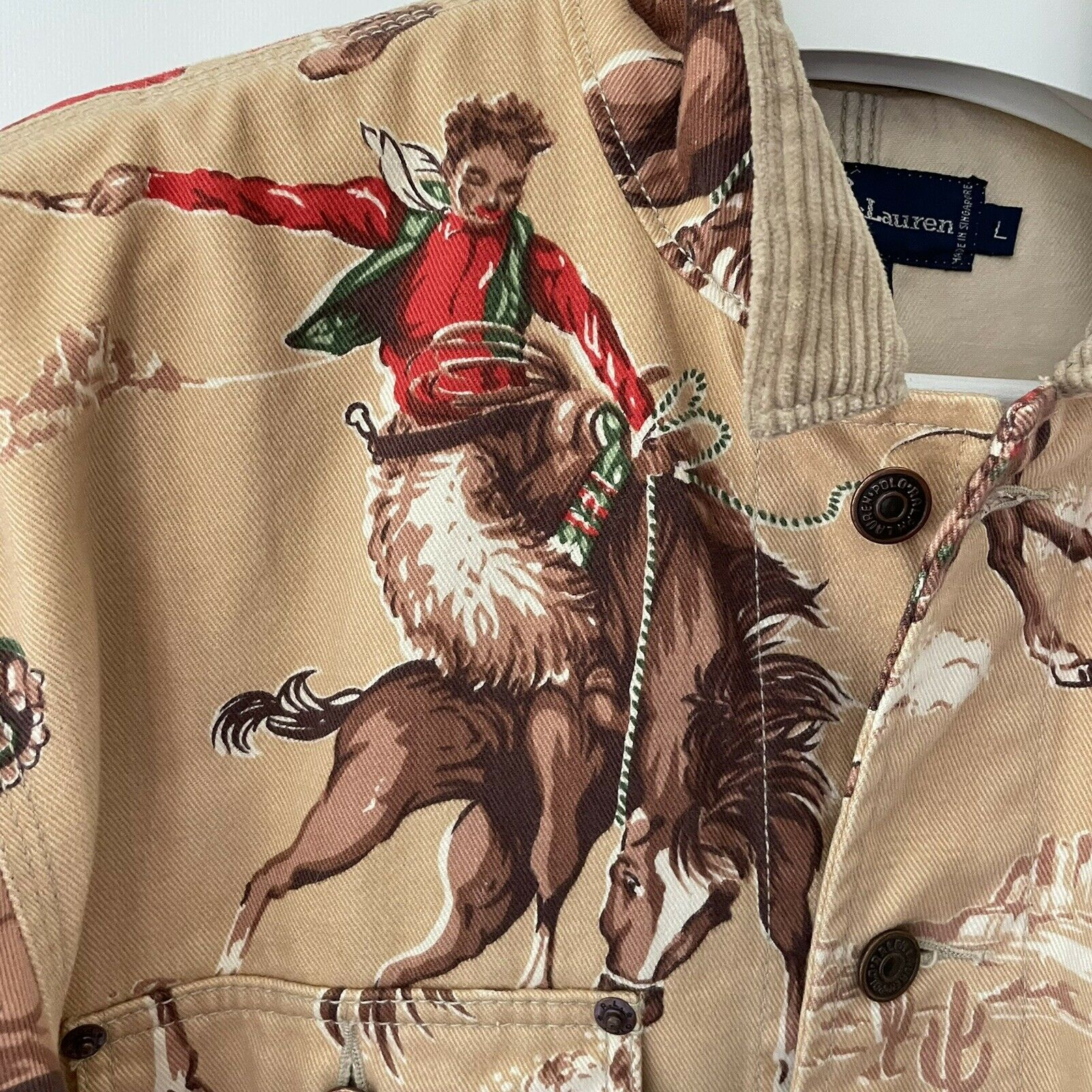 VTG Ralph Lauren Rodeo Country Western Cowboy Wom… - image 3