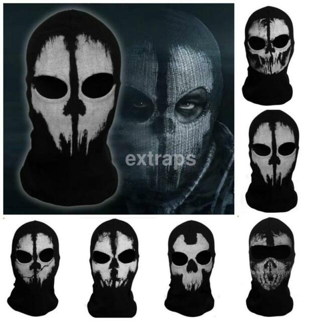 Call Of Duty 10 Cod Ghosts Logan Balaclava Ski Skull Hood: Call Of Duty Cod Commander Elias Balaclava Ghost Mask