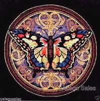 Dimensions NOM423578 Gold Collection Petite Ornate Butterfly Counted Cross Stitch 6 x 18 Count Craft Supplies
