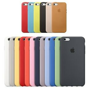 custodia iphone 6 silicone originale apple