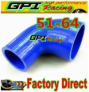 BL-2-034-2-5-034-51mm-64mm-Silicone-90-Degree-Elbow-Reducer-Pipe-Hose-INTERCOOLER