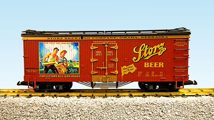 USA Trains G Scale R16023 Storz Beer  SUPPORTING OUR TROOPS  NEW RELEASE