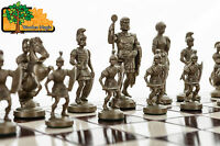 Sparta - Large 50cm / 19 In Handcrafted Wooden Chess Set