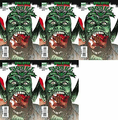 2009 Marvel Comics 5 Comics Skrull Kill Krew #1 Volume 2