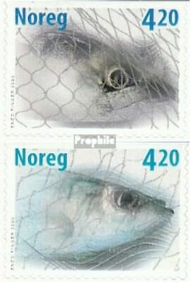 Never Hinged 2000 Fishing Persevering Norway 1355do-1356do Unmounted Mint Norway