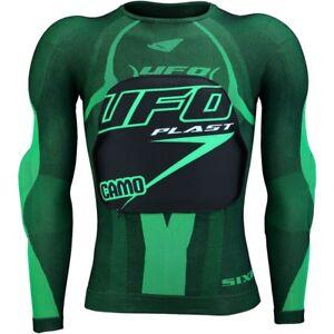 Pettorina-UFO-SIXS-CAMO-da-Motocross-Downhill-Enduro-Quad-Taglia-S-M
