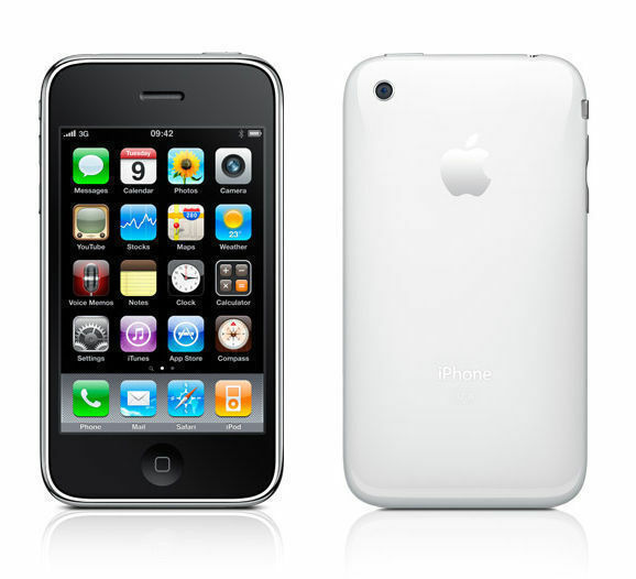 Apple iPhone 3GS - 16GB - White (AT&T) A1303 (GSM) for sale online   eBay