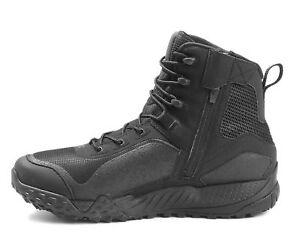 9f7c8ea2635 Under Armour UA Valsetz RTS 1.5 Side Zip Tactical Boots Black ...
