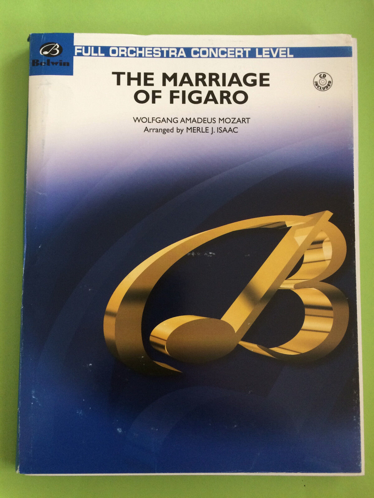 The Marriage Of Figaro, Mozart, arr. Merle J. Isaac, Full Orchestra