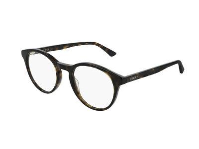 stile di moda del 2019 economico in vendita tecniche moderne Occhiali da Vista GUCCI montatura graduabili GG0406O havana 002 | eBay