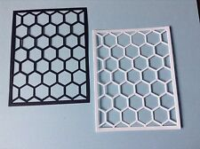 10 x Hexagon background die cuts**FREE POSTAGE***