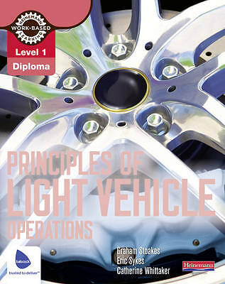 1 of 1 - Principles of Light Vehicle Oper Level 1-ExLibrary