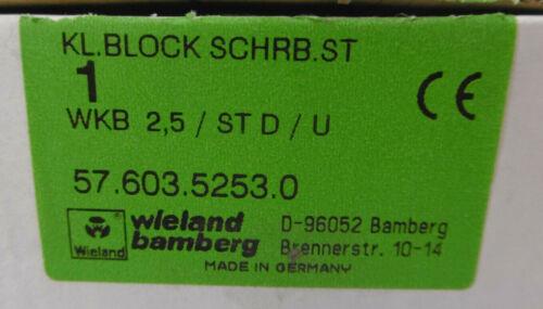STWKB 2,5//St D//U57.603.5253.0 Wieland Pince Bloc schrb