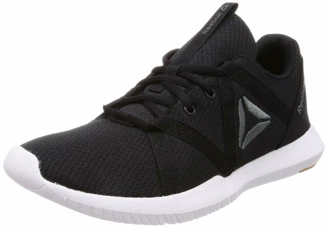 Men Reebok Reago Essential Running Shoes CN4624 Black White 100% Authentic New