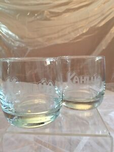 Image is loading Kahlua-Gift-Glasses-Liquor-Cocktail-Rocks-Low-Ball-