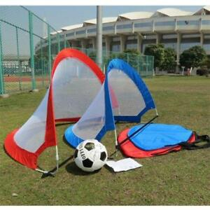 Kids-Portable-Folding-Pop-Up-Football-Soccer-Goal-Training-Net-w-Carry-Bag-us