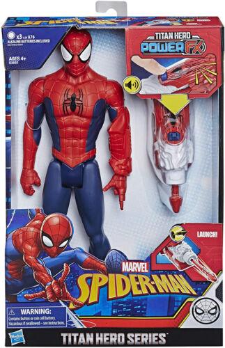 "Spider-Man MARVEL Titan Hero Series Power Fx 12/"" Doll HASBRO Peter Parker NEW"