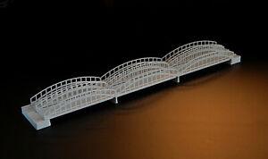 Complexé Kit Pont (4) Pour Bateau Modèles 1:1250 1:1200-afficher Le Titre D'origine