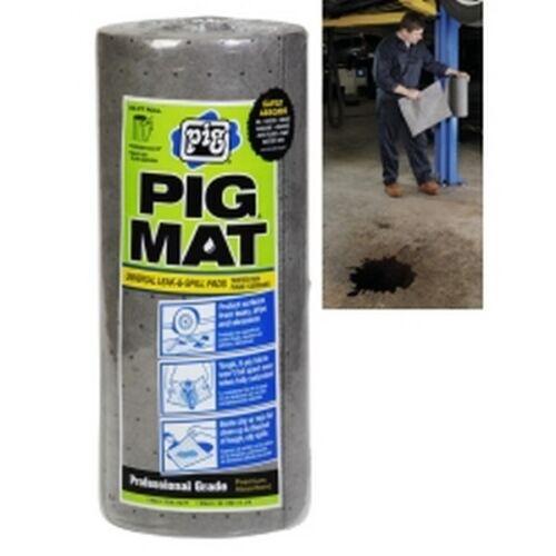 """PIG Universal Light-Weight Absorbent Mat Roll 60 Pads per Roll 15/"""" x 50/'"""