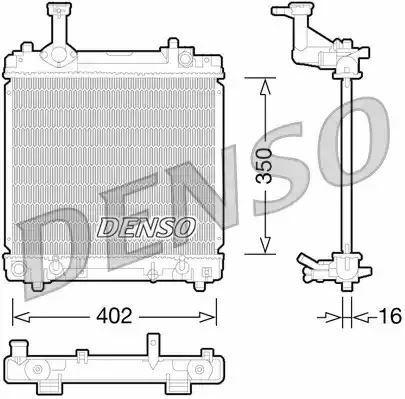 1x denso Radiateur DRM47027 DRM47027