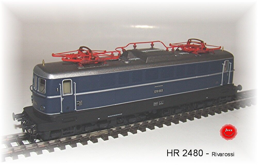 Rivarrorsi 2480 - Locomotive {65533;gry 65533; lectrique S 65533;oss;rie Br E 003 de DB