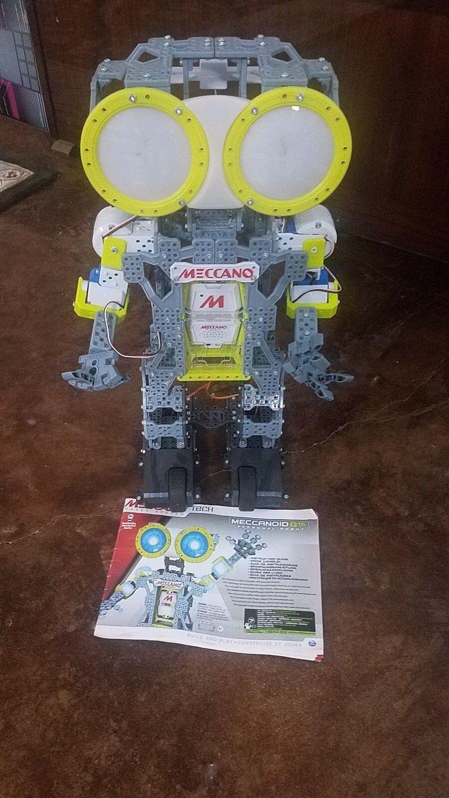 Meccano Tech Maker System Meccanoid G15 Personal Robot Large Building Set