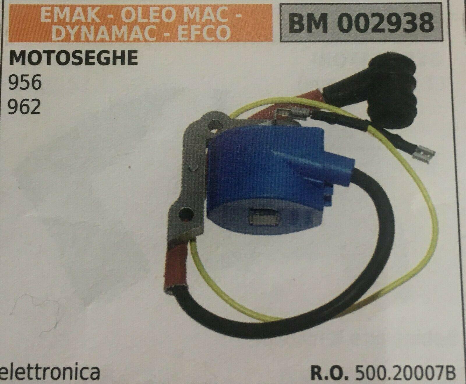 BOBINA ELETTRONICA EMAK OLEO MAC - DYNAMAC - EFCO BM 002938
