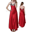 Womens-Ladies-Sexy-Lace-Long-Silk-nightgowns-Stain-Chemise-Sleepwear-Lingerie miniature 7
