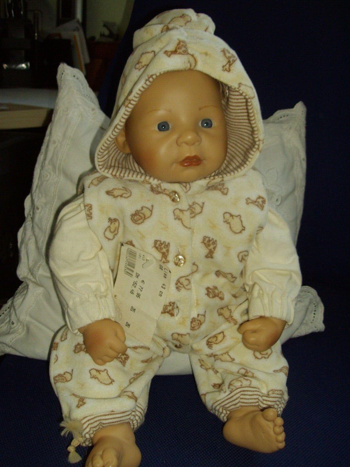 Lisa - Zapf Colette Puppe 43 cm Babypuppe 1998 Sammlerpuppe Sammlerpuppe Sammlerpuppe Spielpuppe Doll 9e52fa