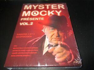 "COFFRET 7 DVD NEUF ""MYSTER MOCKY PRESENTE - VOLUME 2 (SAISON 3 & 4)"" 32 episodes"