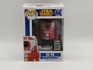 R2-R9-Star-Wars-44-2015-Galactic-con-Funko-Pop-Vinilo-seguramente-empaquetados