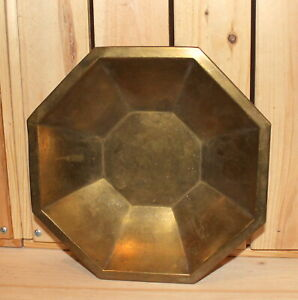 Antique-brass-footed-bowl