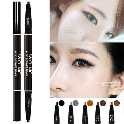 3W Clinic Auto eyebrow Pencil 5COLOR / Dual-sided eyebrow pencil / Korean Makeup