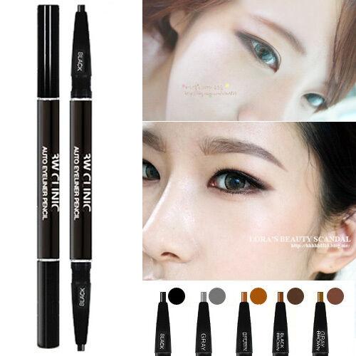 3W-Clinic-Auto-eyebrow-Pencil-5COLOR-Dual-sided-eyebrow-pencil-Korean-Makeup