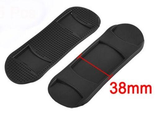 Schwarz Rutschfeste Schulterpolster Wählen Sie Menge Ref: Psp 25mm Or 38mm