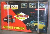 Wood Power 5000 Lb Electric Winch 1.8 Hp 12v
