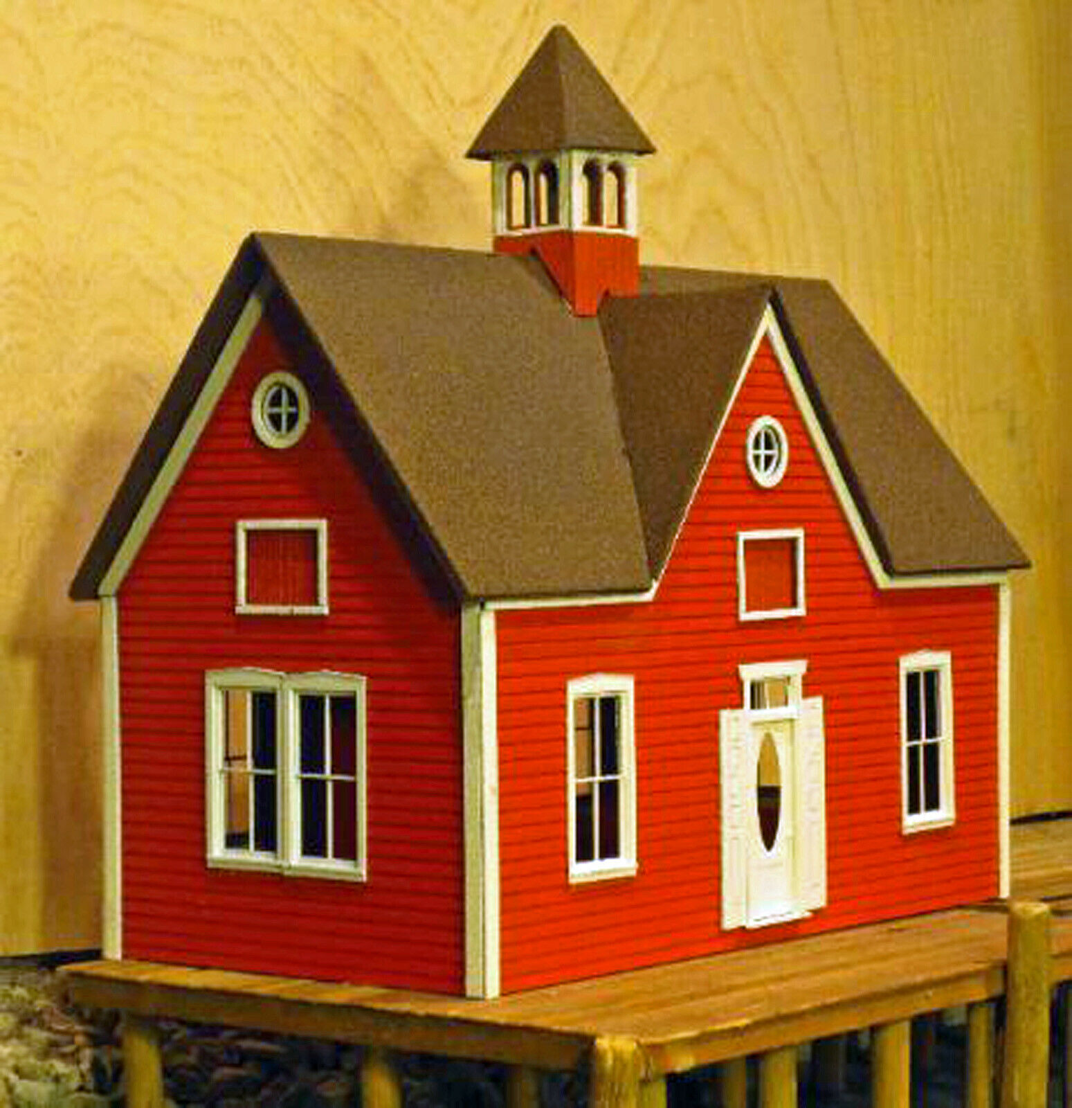 CARRIAGE HOUSE FOUR FOUR FOUR PANE WINDOWS O On30 Model Railroad Unptd Laser Kit DF421B ab2184