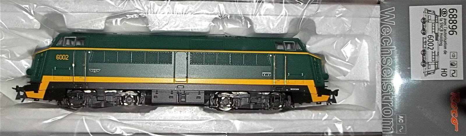 Serie 60 Sncb Nmbs Ep. III Locomotiva Diesel Sound Digitale Ac Roco 68896 1:87