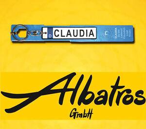 Albatros Name Schlüsselanhän<wbr/>ger A B C D E F G H