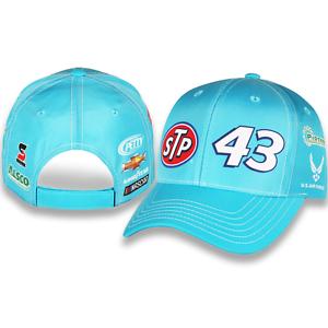 Bubba Wallace 2019 Checkered Flag Sports #43 STP Uniform Hat FREE SHIP