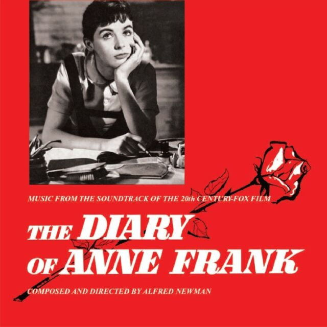 CD Diary of Anne Frank Alfred Newman Music From 20th Century Fox Soundtrack