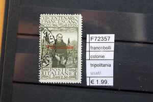 FRANCOBOLLI-ITALIA-COLONIE-TRIPOLITANIA-USATI-F72357