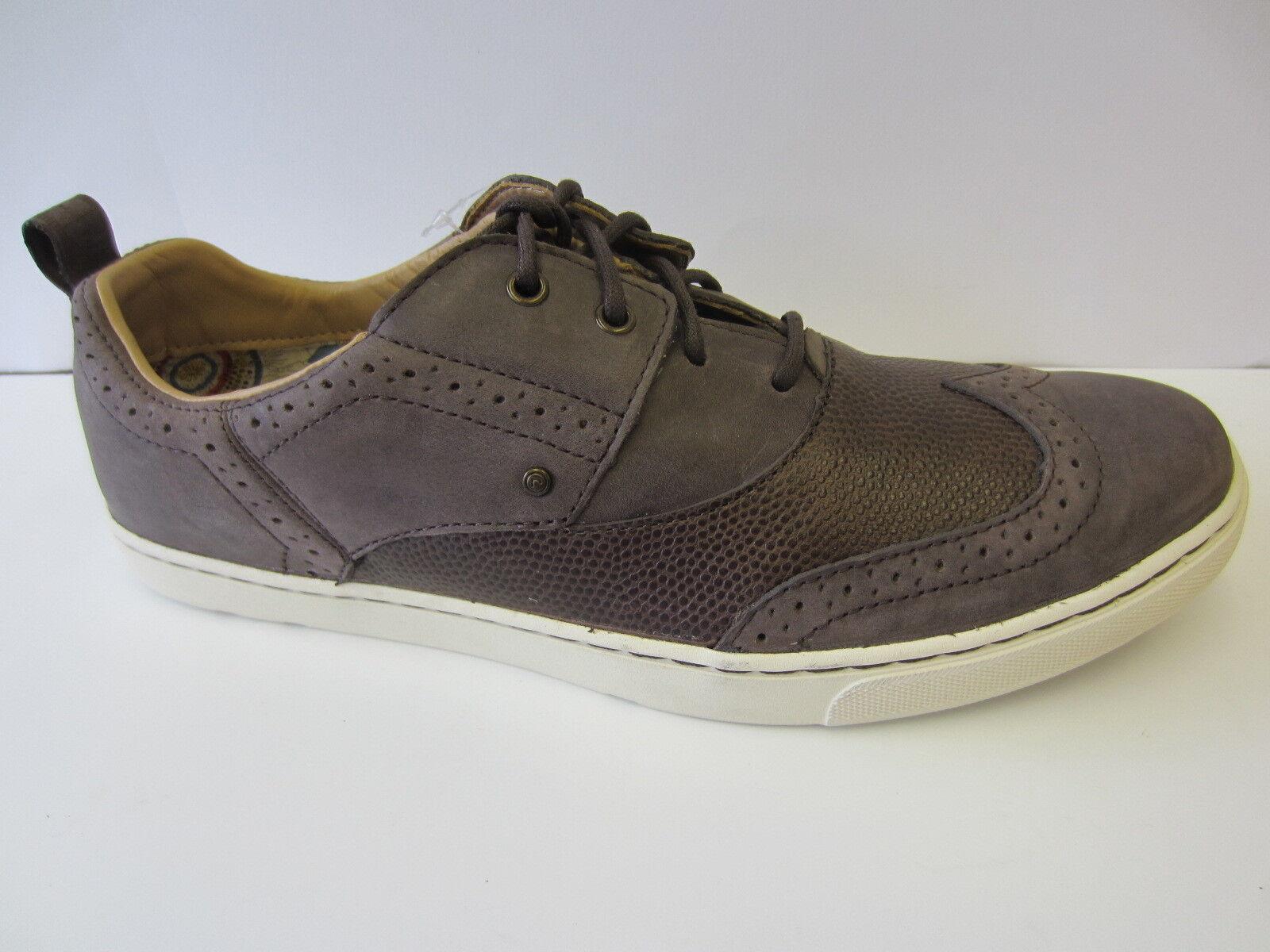 Cordón Hombre de Cuero Marrón para Hombre Cordón Zapatos de Ocio K58295 3a8b28