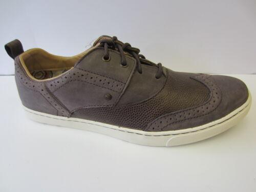 Homme marron en cuir à lacets chaussures de loisirs k58295