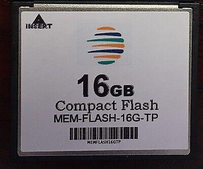 MEM-FLASH-8U16G 8G to 16G CF Memory 3rd Party Upgrade For Cisco ISR 4450