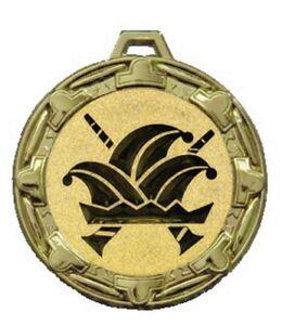 Karnevalsorden-70mm-altgold-034-Basel-034-inkl-Emblem-gold-amp-Band-2-15-EUR-Stueck