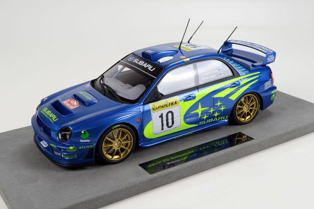TOP MARQUES Subaru Impreza s7 555 expérimentés  10 Mäkinen-Lindström winner MC 2002 1 18