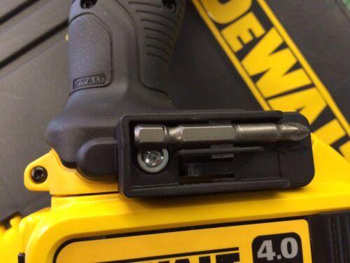 Dewalt belt hook clip /&  bit holder /& screws 18V 10.8v Impact Drill Driver XR